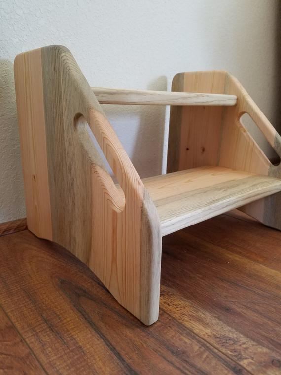 DIY Toddler Step Stool  Kids step stool Kids stool Toddler step stool potty step