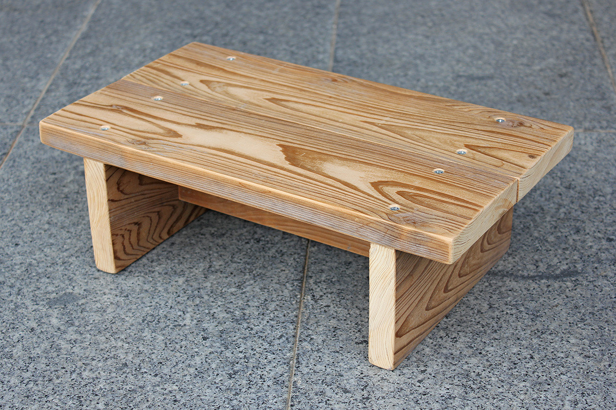 DIY Toddler Step Stool  Simple Step Stool for a Child