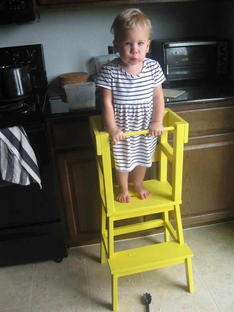 DIY Toddler Step Stool  DIY Learning Tower with IKEA BEKVÄM Step Stool IKEA Hackers