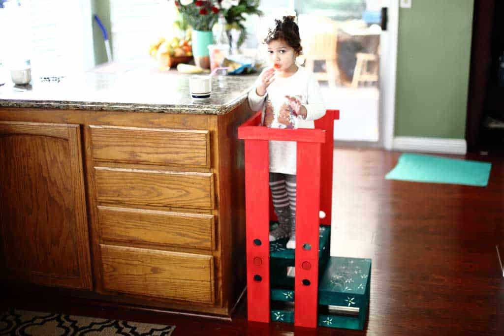 DIY Toddler Step Stool  How to Build a DIY Toddler Step Stool with Guard Rail