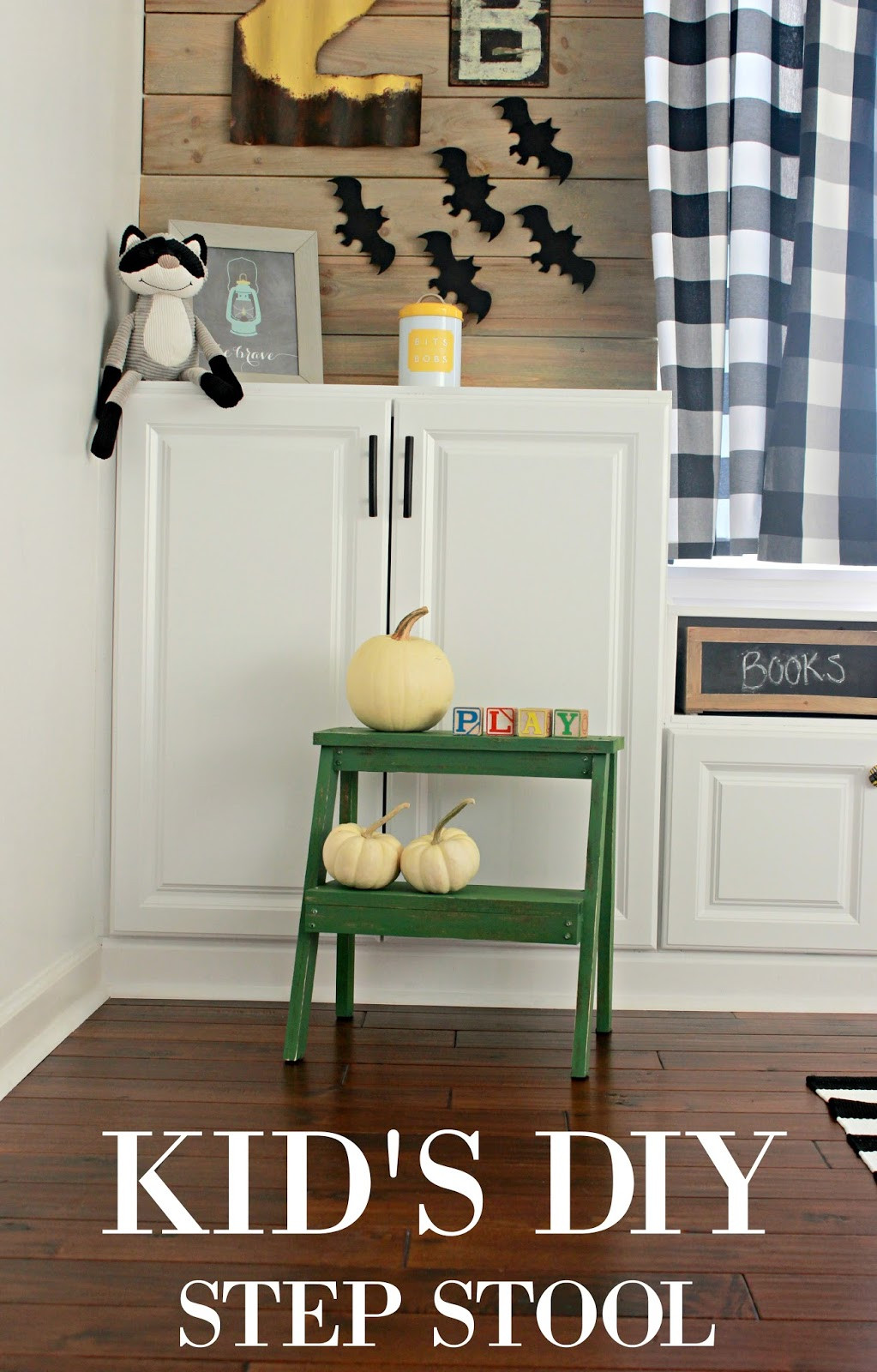 DIY Toddler Step Stool  Kid s DIY Step Stool and a New Chalk Paint Adventure