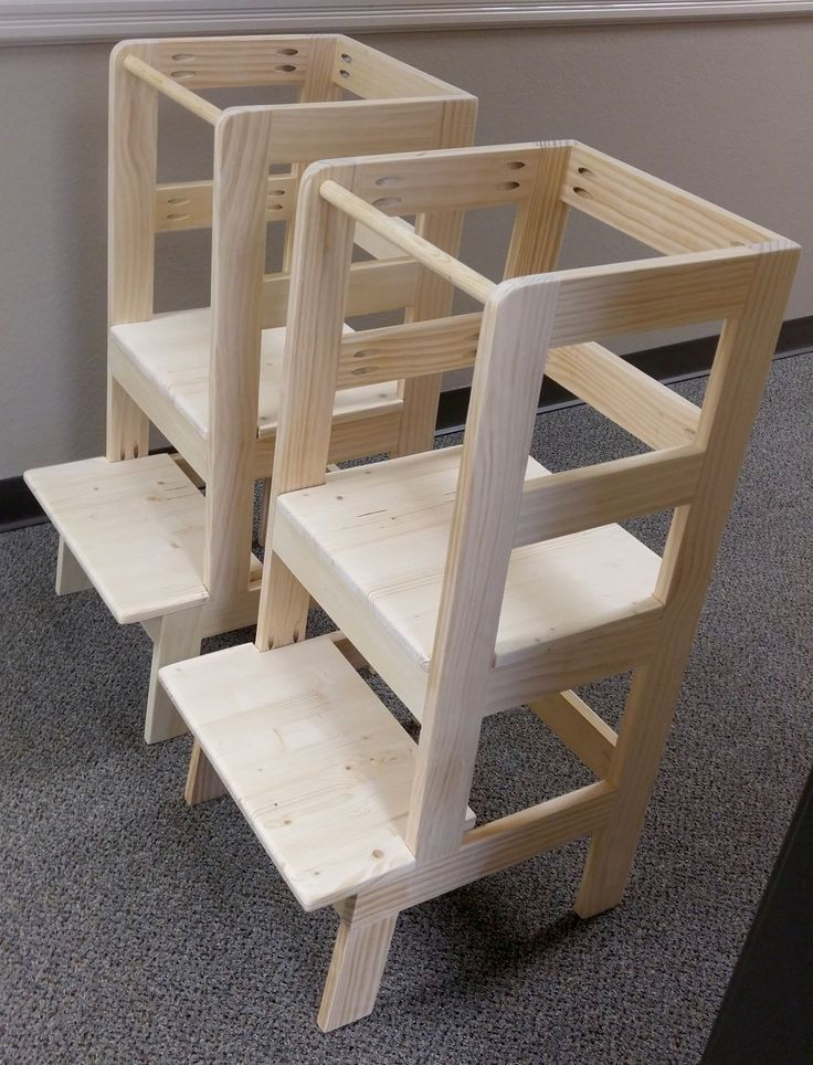 DIY Toddler Step Stool  Learning Tower in 2020