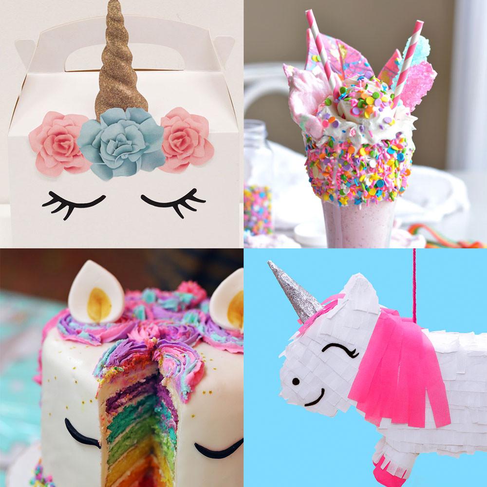Diy Unicorn Birthday Party Ideas  10 DIY Unicorn Party Ideas — Doodle and Stitch