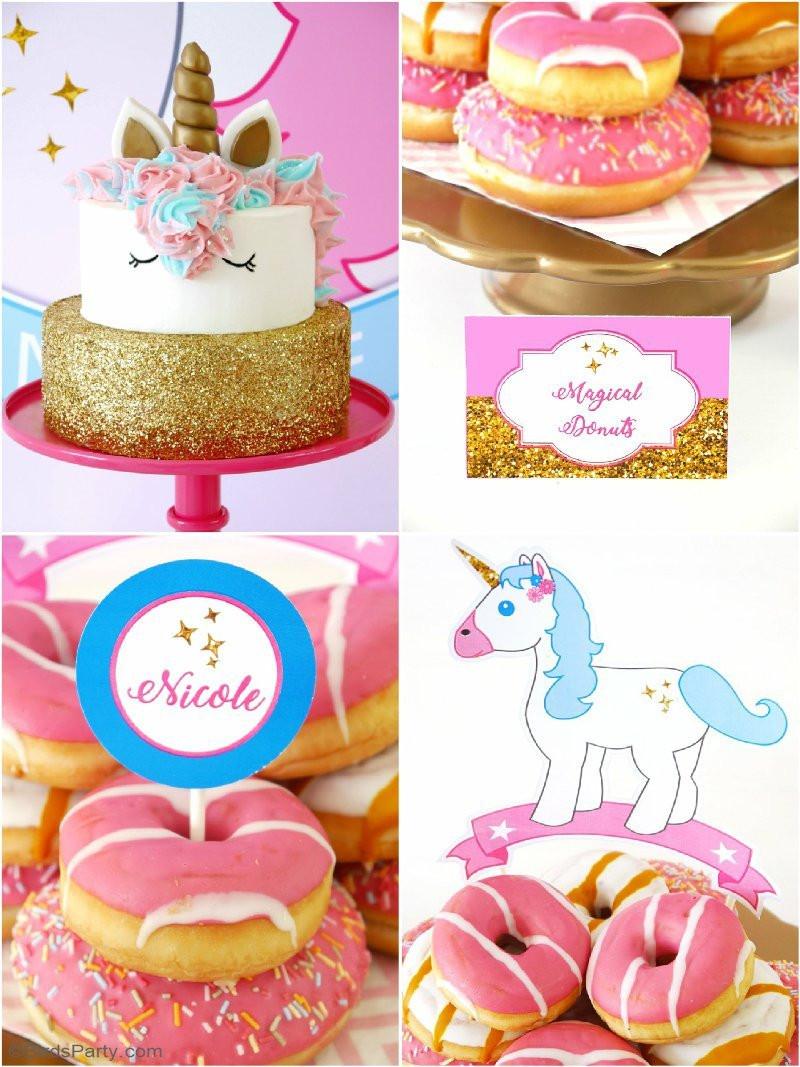 Diy Unicorn Birthday Party Ideas  My Daughter s Unicorn Birthday Slumber Party Party Ideas