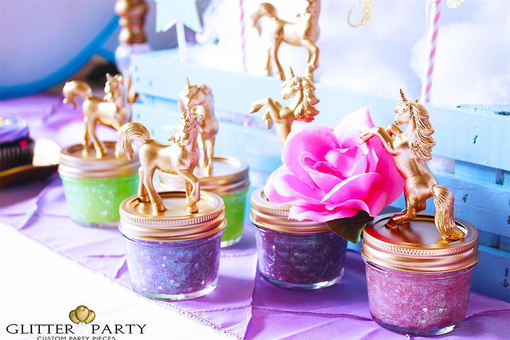 Diy Unicorn Birthday Party Ideas  Unicorn Theme Party Ideas TheGlitterParty