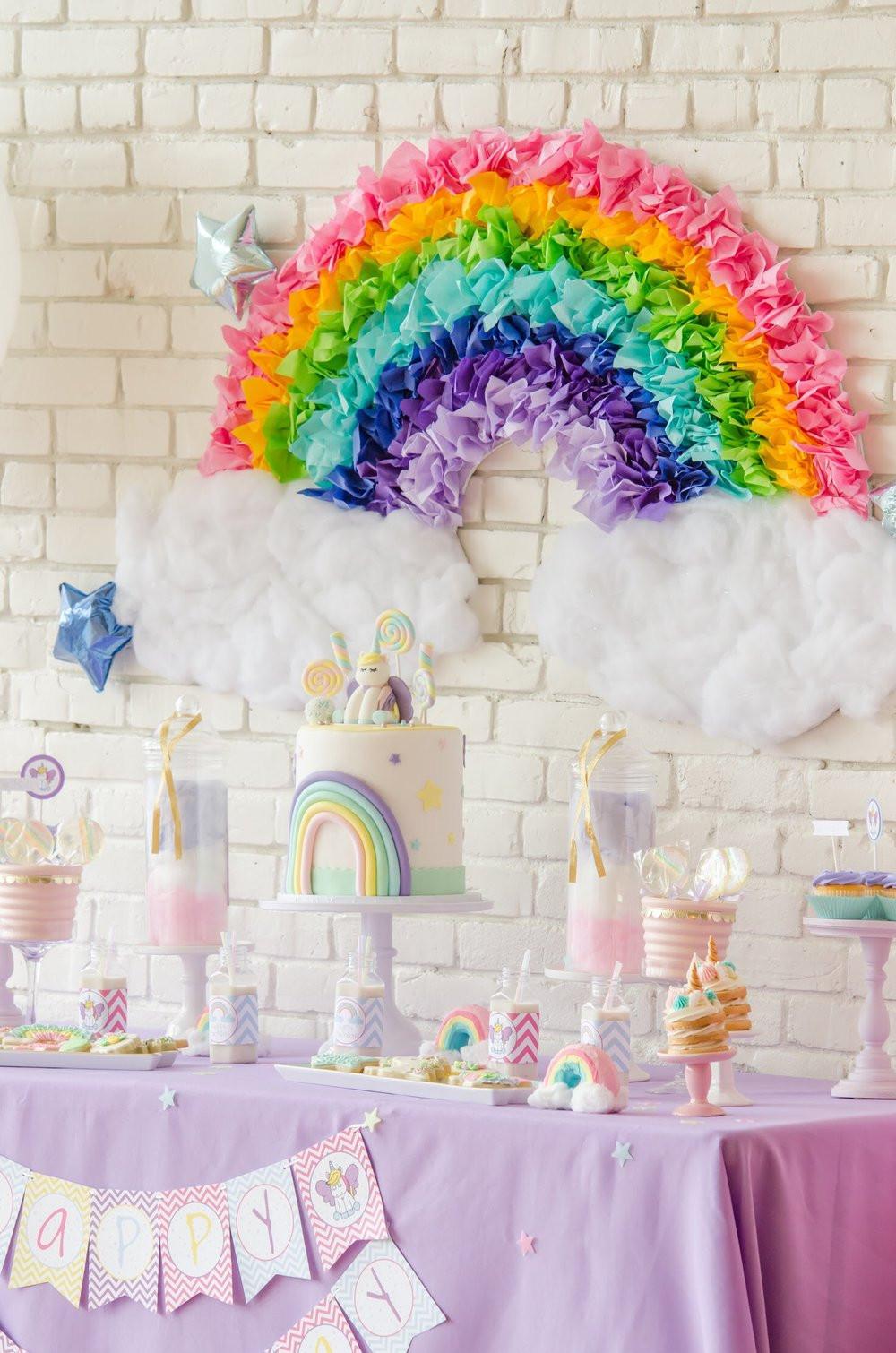 Diy Unicorn Birthday Party Ideas  The Sweetest Unicorn Birthday Party Free Printables
