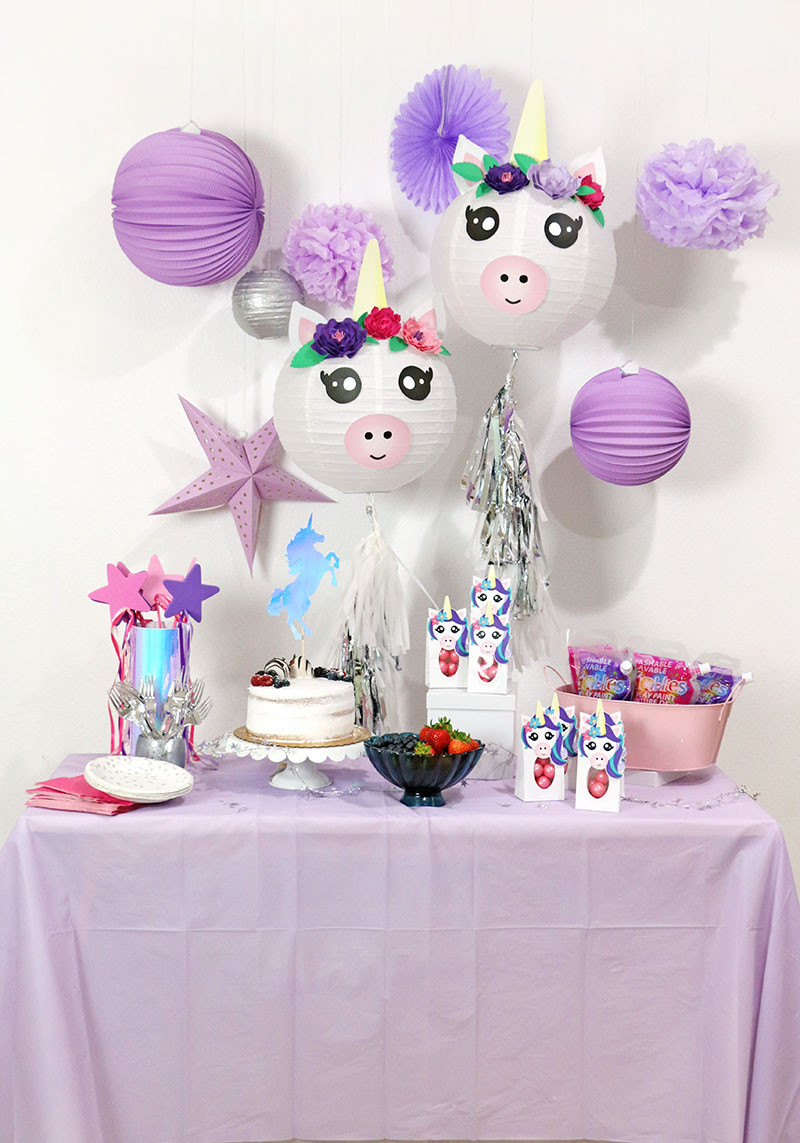Diy Unicorn Birthday Party Ideas  A Cute and Colorful DIY Unicorn Party with Goblies Paint