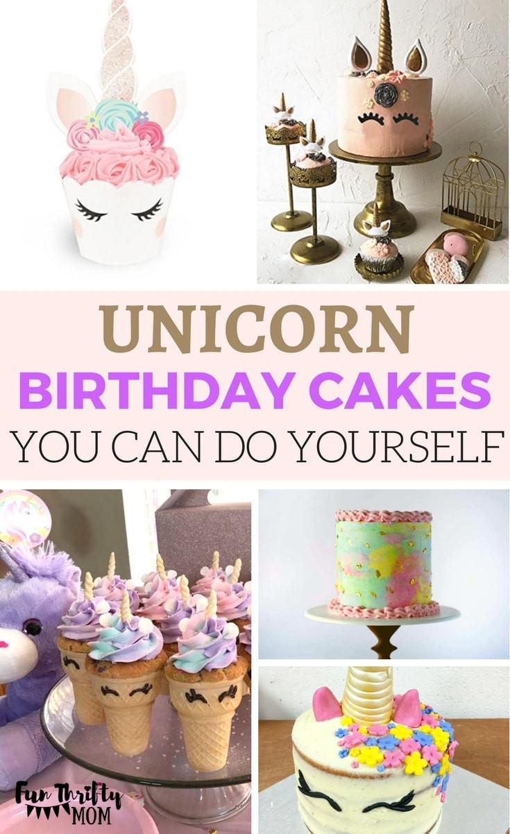 Diy Unicorn Birthday Party Ideas  21 DIY Unicorn Birthday Party Ideas