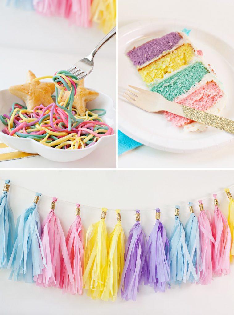 Diy Unicorn Birthday Party Ideas  Simple & Sweet Unicorn Birthday Party Ideas Hostess