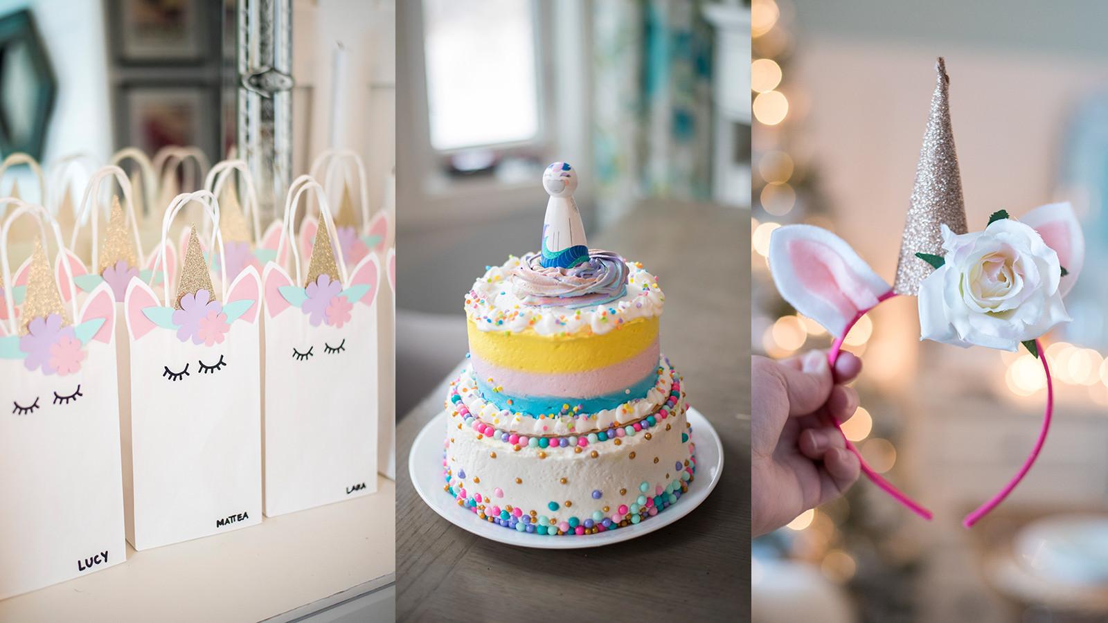 Diy Unicorn Birthday Party Ideas  DIY Unicorn Party Ideas