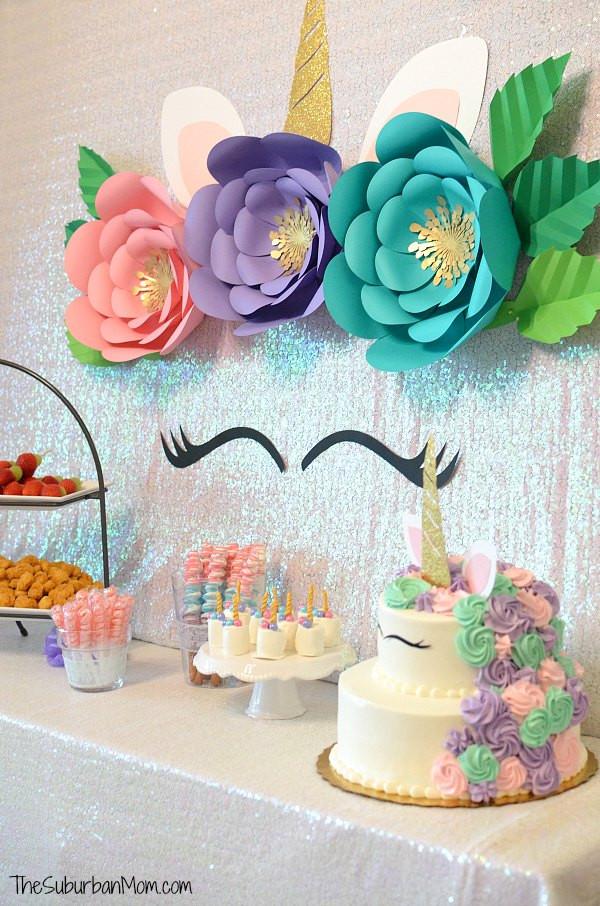 Diy Unicorn Birthday Party Ideas  Unicorn Birthday Party Ideas Food Decorations