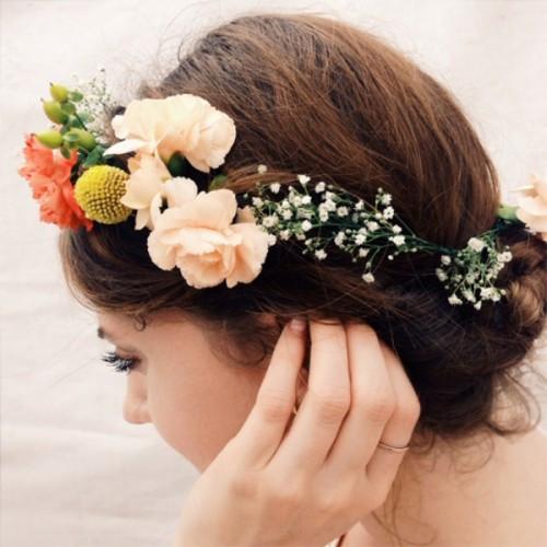 DIY Wedding Headpieces  20 Beautiful DIY Flower Crowns For A Bride Weddingomania