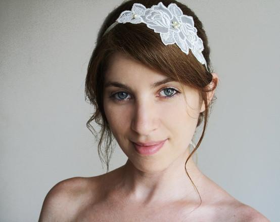 DIY Wedding Headpieces  diy bridal headpiece