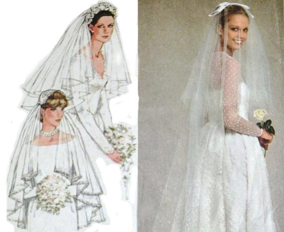 DIY Wedding Headpieces  Wedding Veil Bridal Headpiece DIY Wedding Simplicity 9420