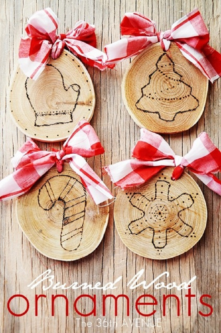 DIY Wooden Christmas Decorations  Easy DIY Christmas Decorations Ideas – The WoW Style