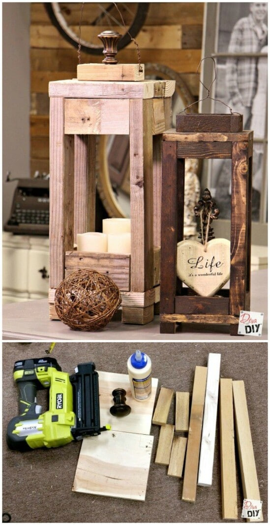 DIY Wooden Christmas Decorations  20 Impossibly Creative DIY Outdoor Christmas Decorations