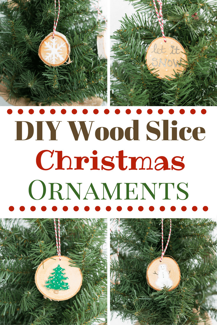 DIY Wooden Christmas Decorations  31 Handmade Christmas Ornaments Domestically Speaking