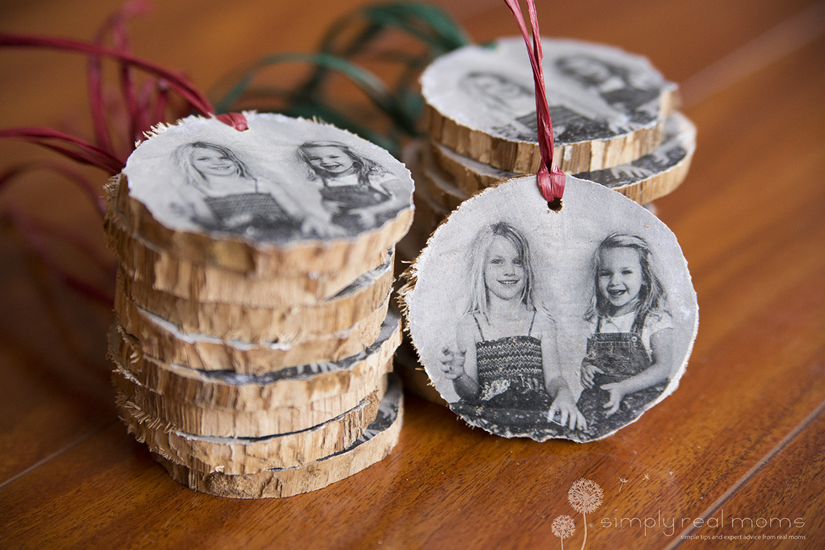 DIY Wooden Christmas Decorations  DIY Wooden Christmas Ornaments Simply Real Moms