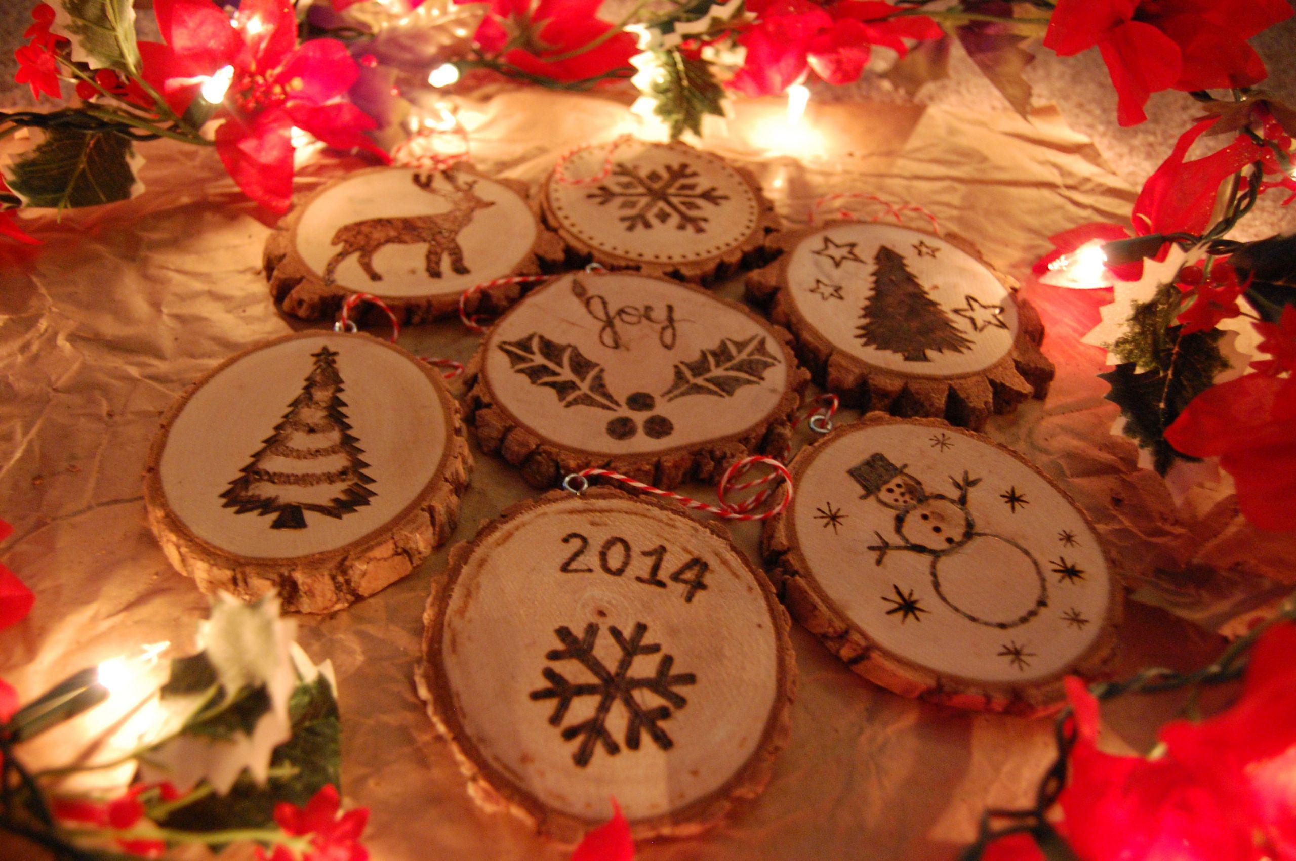 DIY Wooden Christmas Decorations  DIY Wood Christmas Ornaments