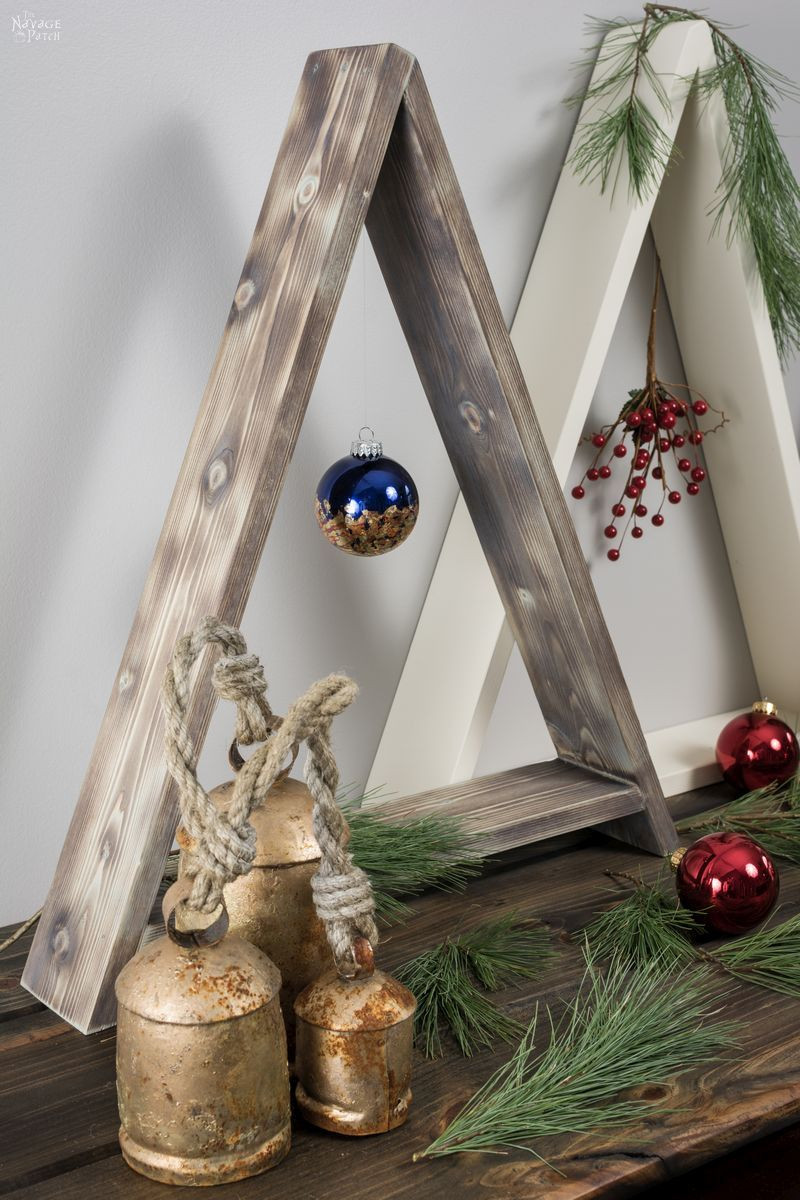 DIY Wooden Christmas Decorations  DIY Wooden Minimalist Christmas Tree The Navage Patch