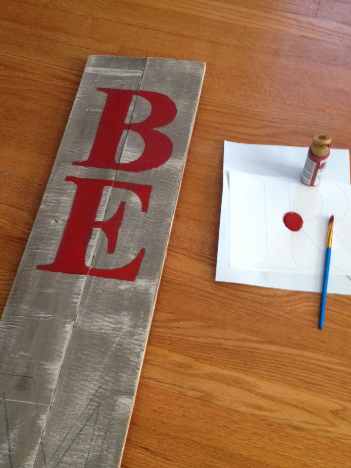 DIY Wooden Christmas Signs  Two It Yourself DIY Christmas Sign Pottery Barn