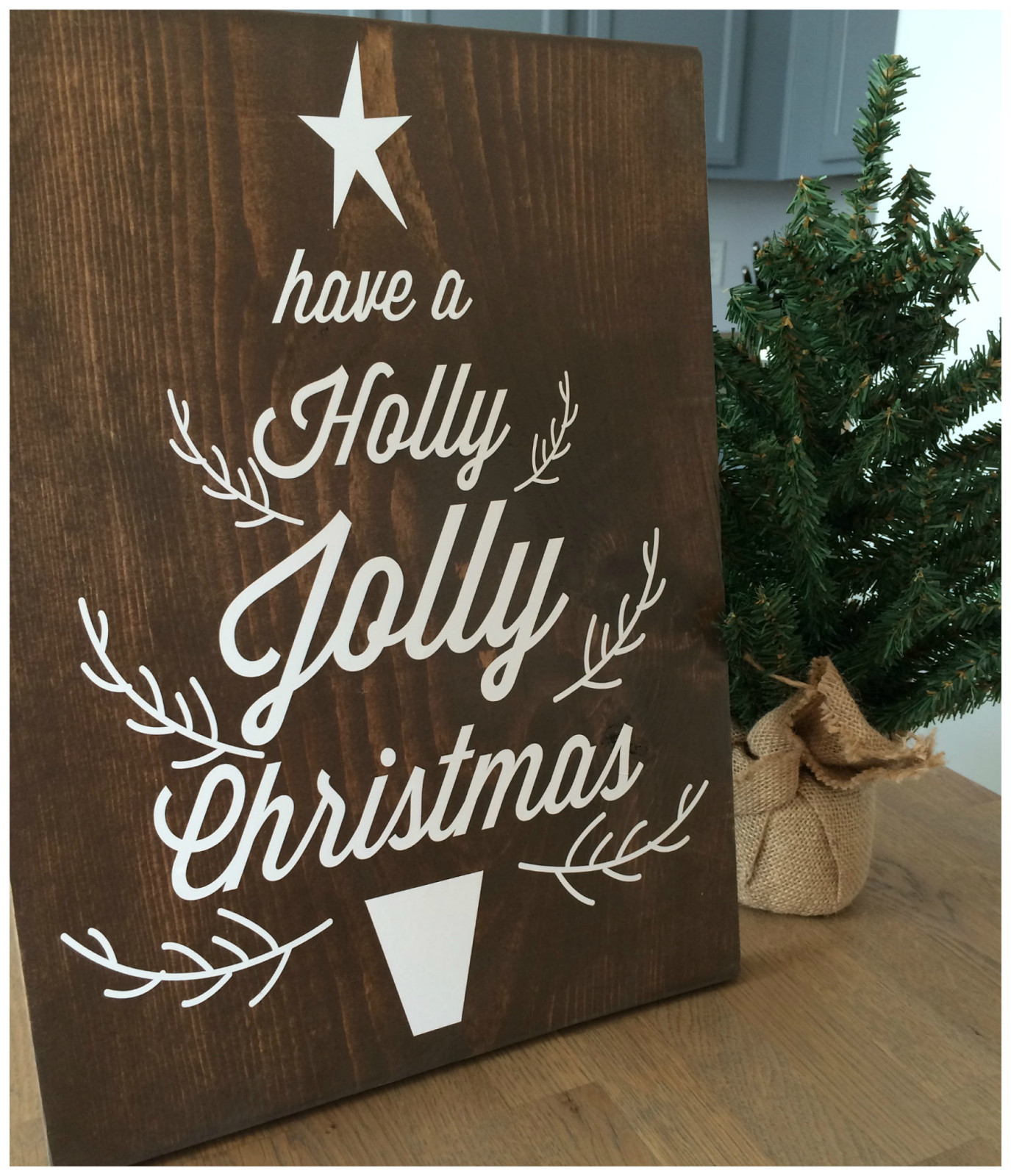 DIY Wooden Christmas Signs  Holiday signs thanksgiving and Christmas decor Wooden