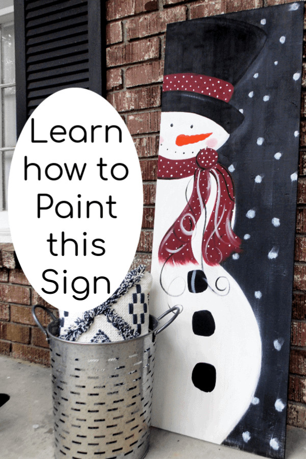 DIY Wooden Christmas Signs  DIY Wood Signs Do you Wanna Paint a Snowman • That Sweet
