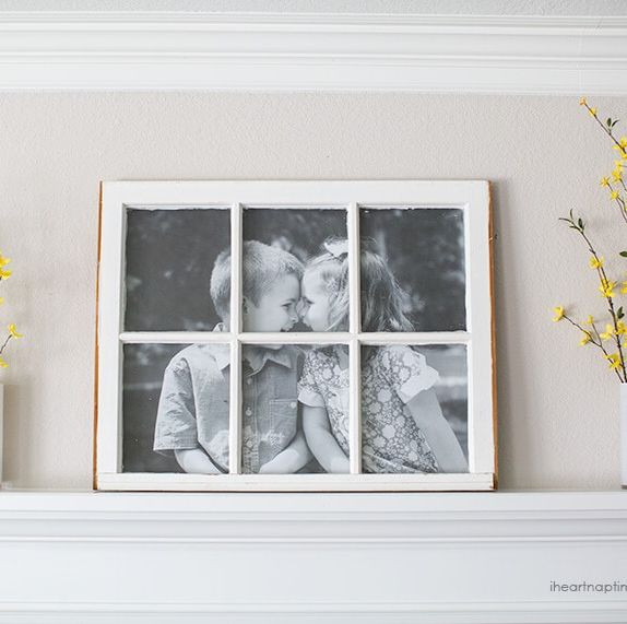 DIY Wooden Photo Frame  16 DIY Picture Frame Ideas How to Make a Wooden Picture