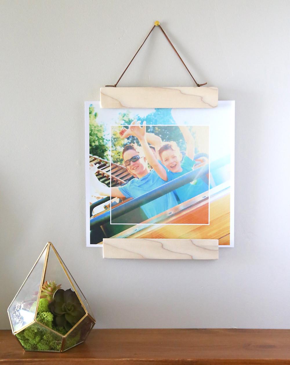 DIY Wooden Photo Frame  20 best DIY picture frame tutorials It s Always Autumn