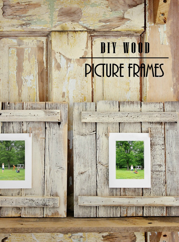DIY Wooden Photo Frame  Easy DIY Wood Picture Frame Project