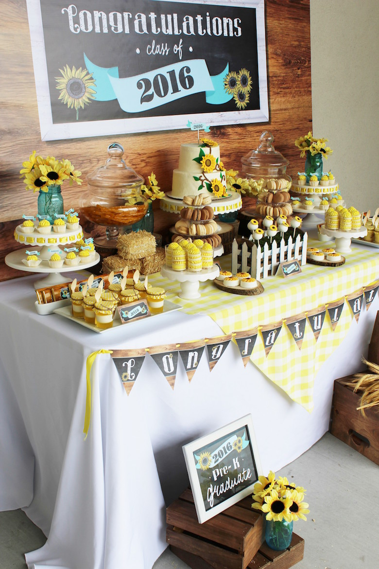 Doctoral Graduation Party Ideas  Fawn Over Baby Country Themed Pre K Graduation Party By