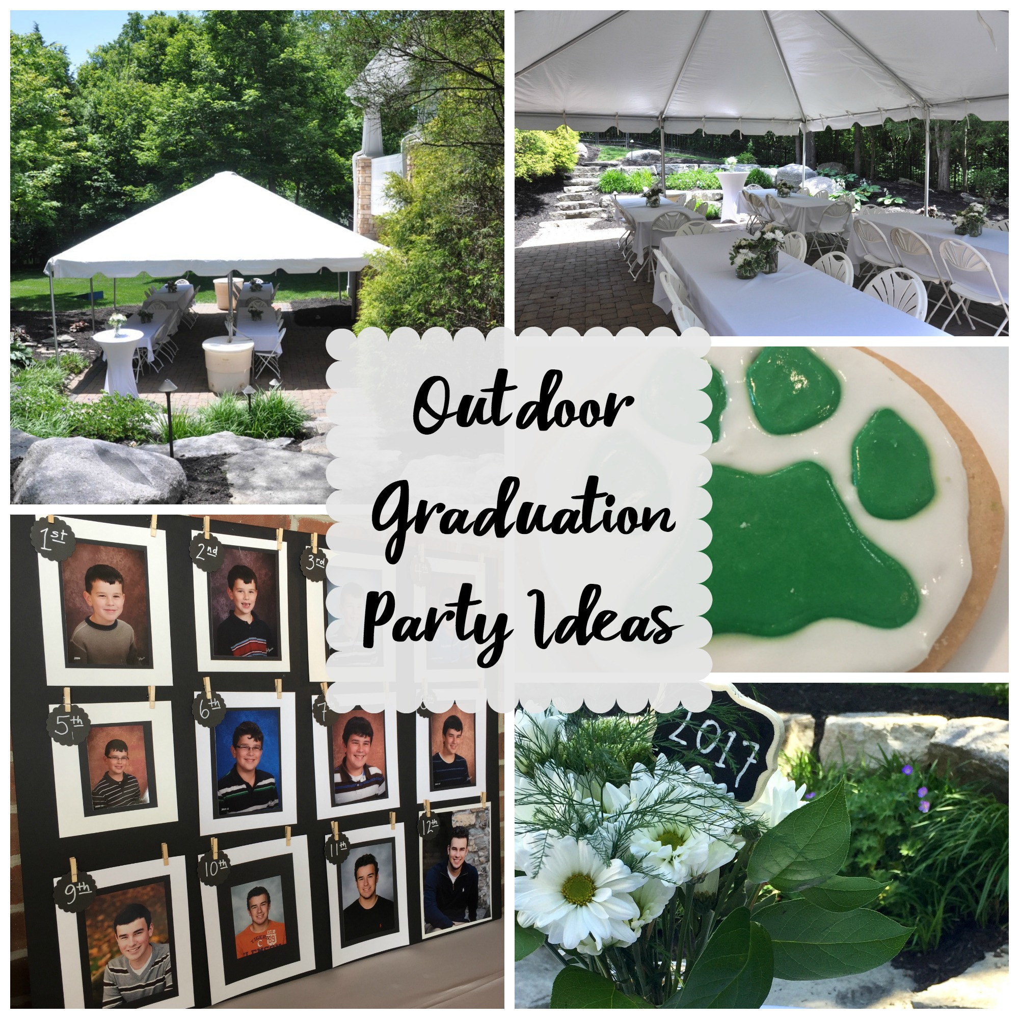 Doctoral Graduation Party Ideas  Outdoor Graduation Party Evolution of Style