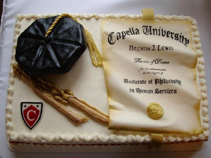 Doctoral Graduation Party Ideas  16 best images about PhD cake ideas on Pinterest