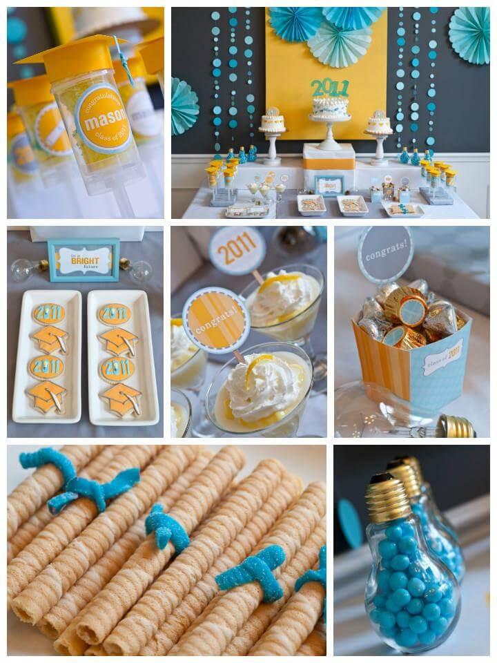 Doctoral Graduation Party Ideas  50 DIY Graduation Party Ideas & Decorations DIY & Crafts