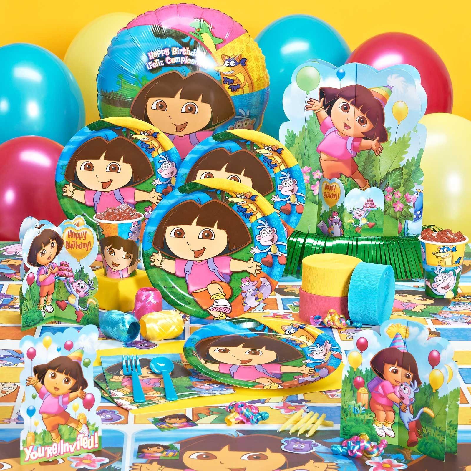 Dora Birthday Decorations  Dora and Friends Birthday Party Supplies
