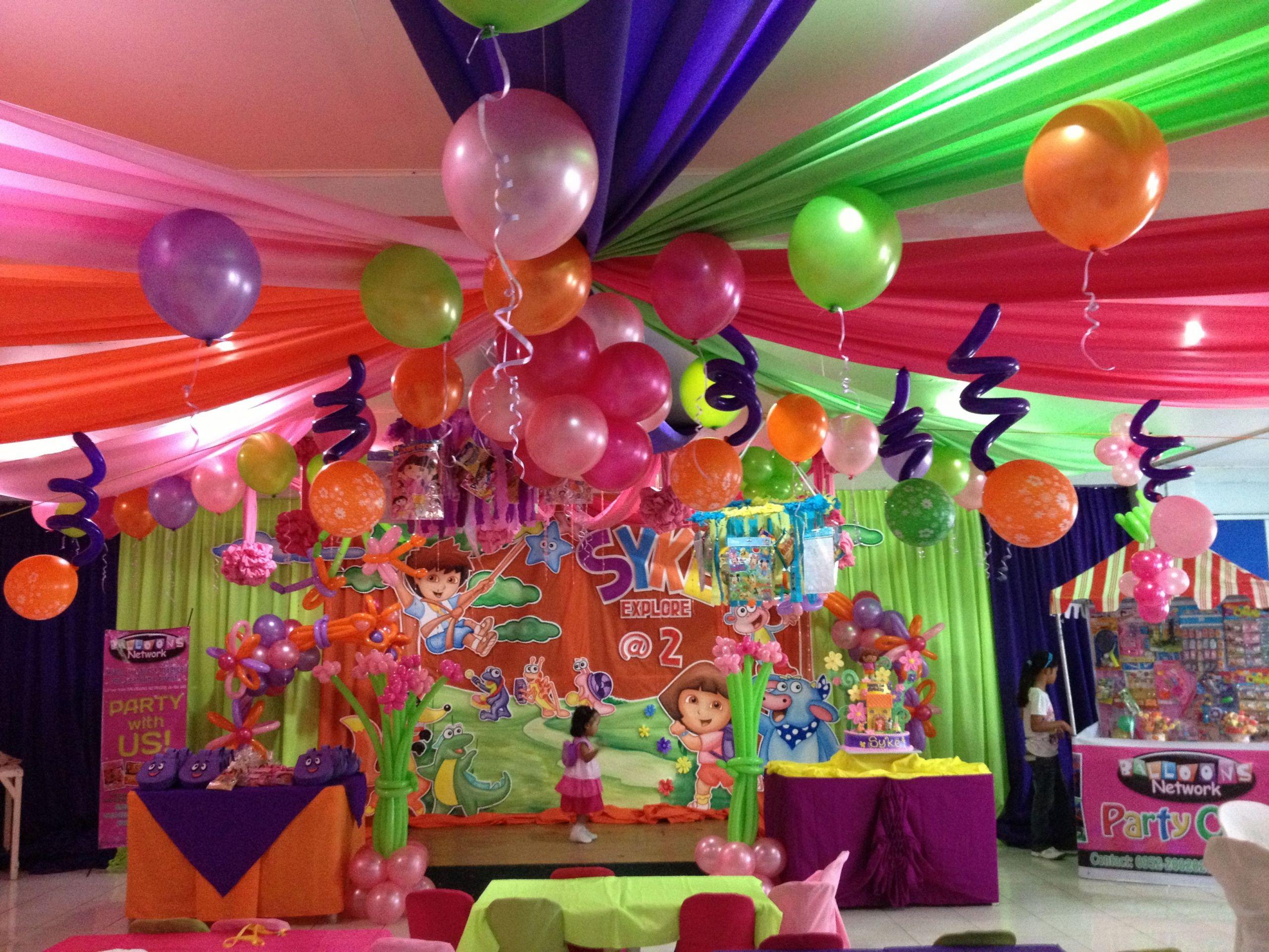 Dora Birthday Decorations  Dora theme party