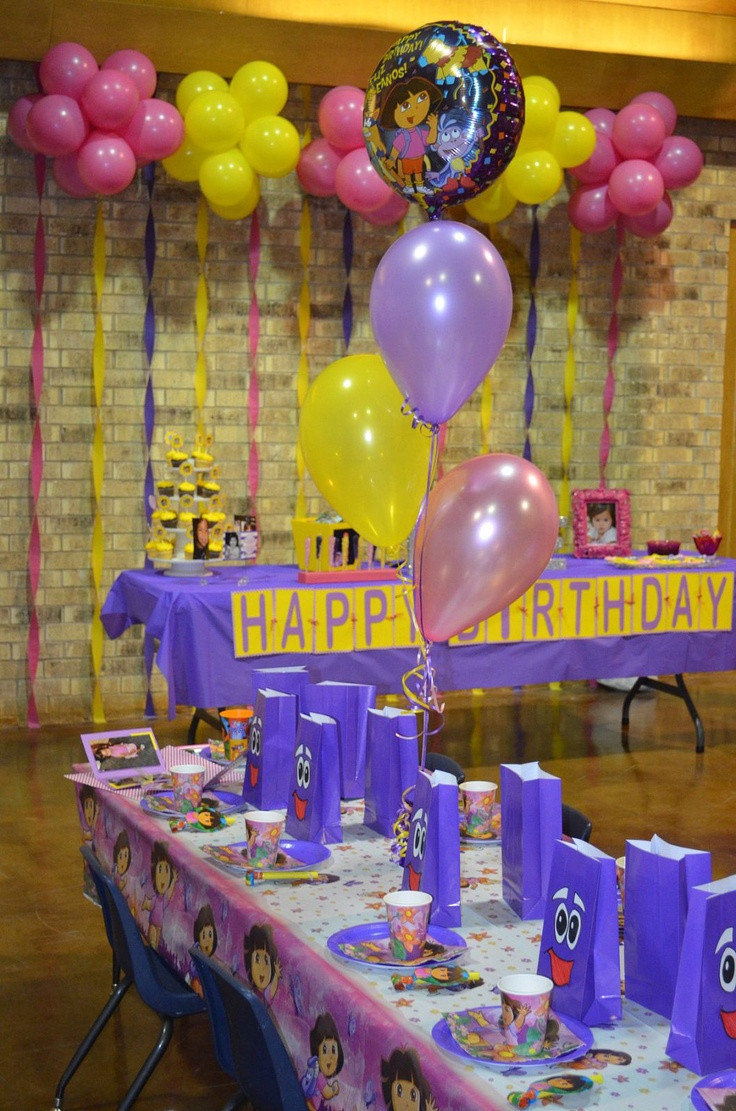 Dora Birthday Decorations  119 best ideas about DORA THE EXPLORER PARTY on Pinterest