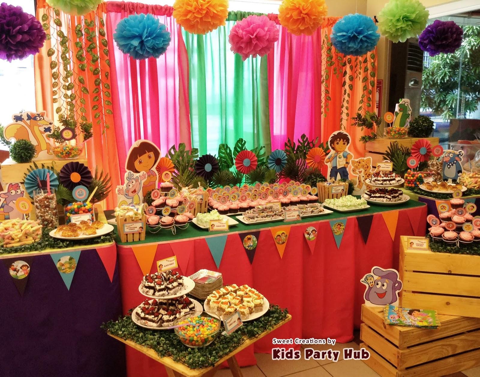 Dora Birthday Decorations  Dora Explorer Birthday Party Ideas
