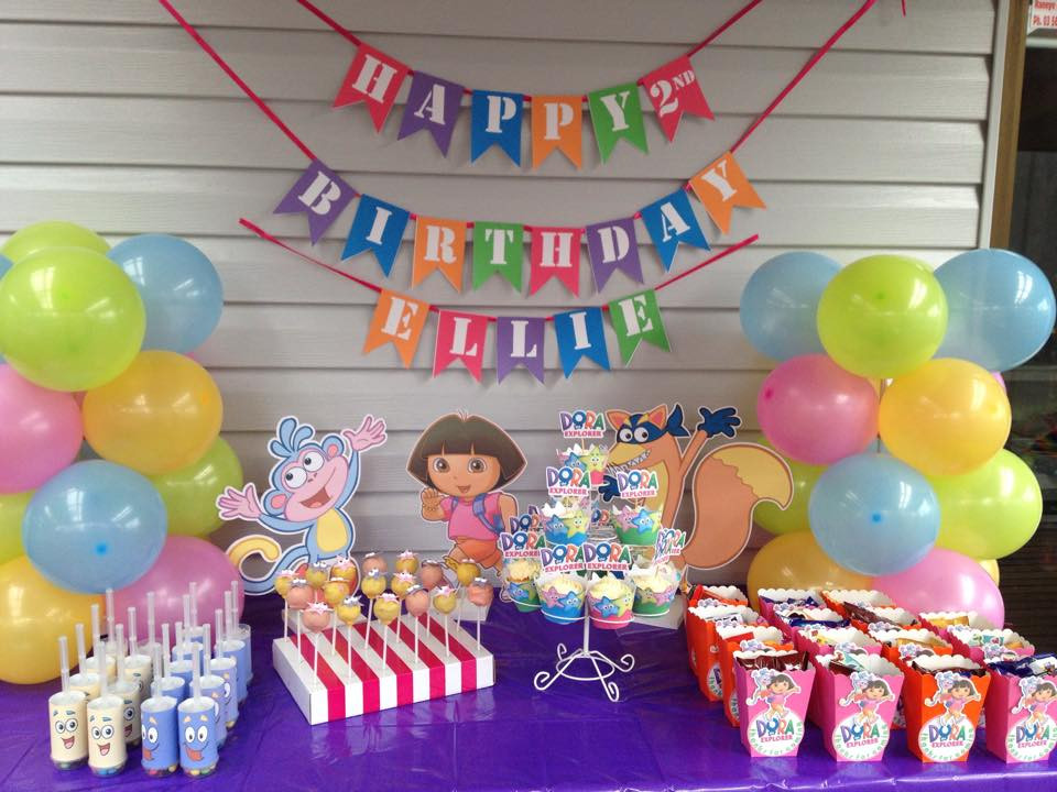 Dora Birthday Decorations  The Ultimate Dora The Explorer Party Setup FREE
