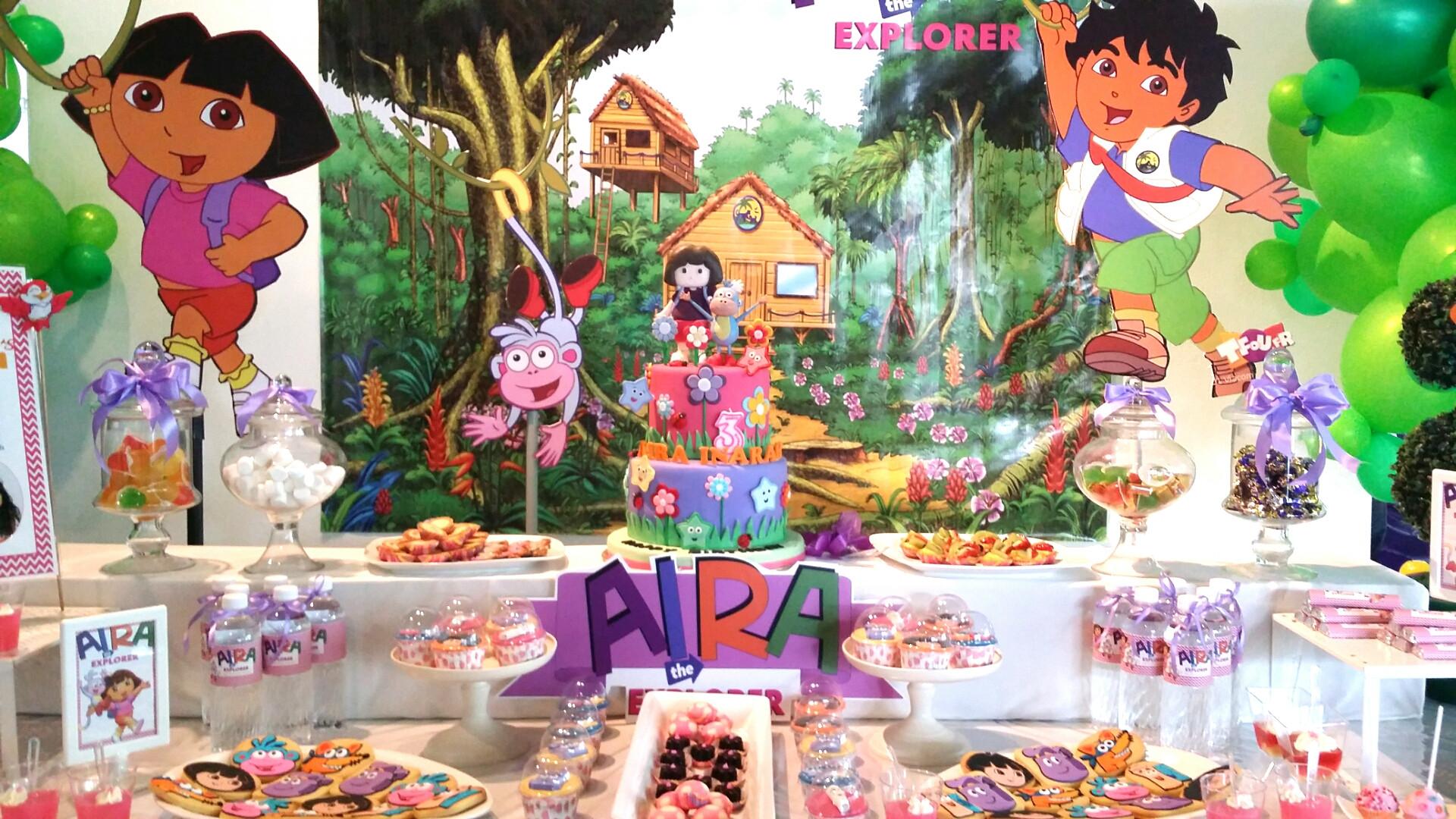 Dora Birthday Decorations  Theme Dora The Explorer 3rd Birthday Bash – Its More