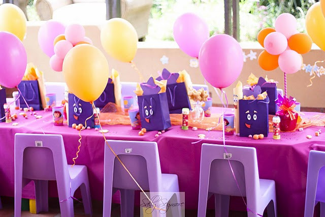 Dora Birthday Decorations  Just Baking DIY Momma Dora the explorer party