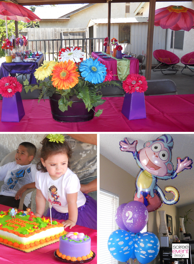 Dora Birthday Decorations  Character Week Dora The Explorer Party Ideas Soiree