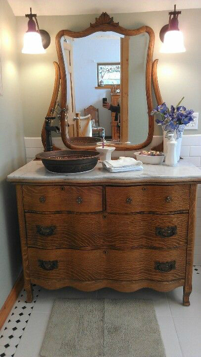 Dresser Bathroom Vanity  26 Bathroom Vanity Ideas Decoholic