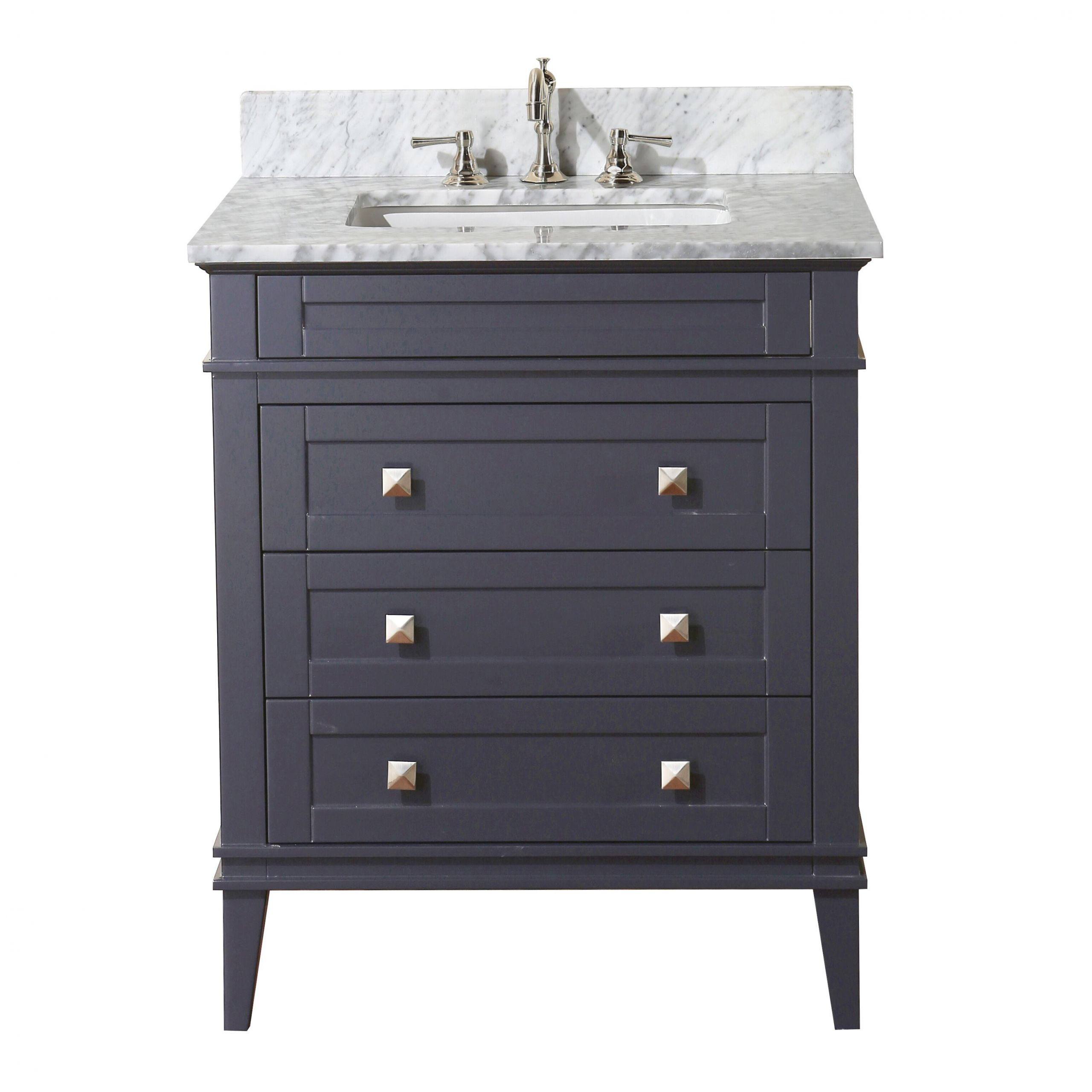 "Dresser Bathroom Vanity  KBC Eleanor 30"" Single Bathroom Vanity Set & Reviews"