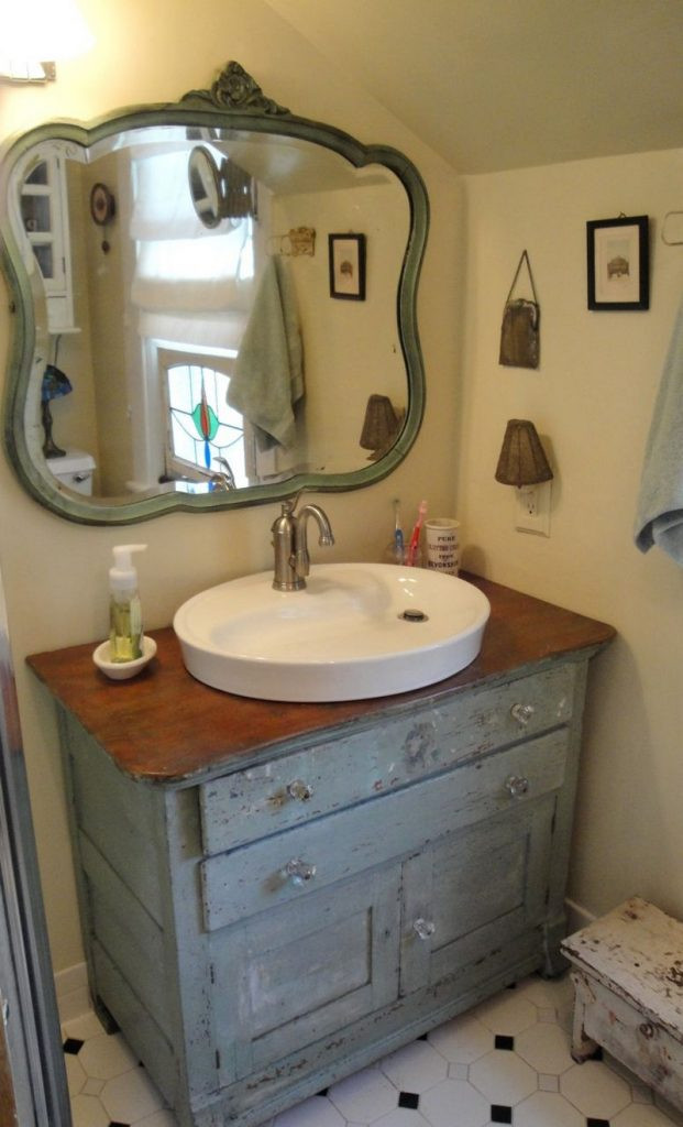 Dresser Bathroom Vanity  DIY Dresser to Vanity