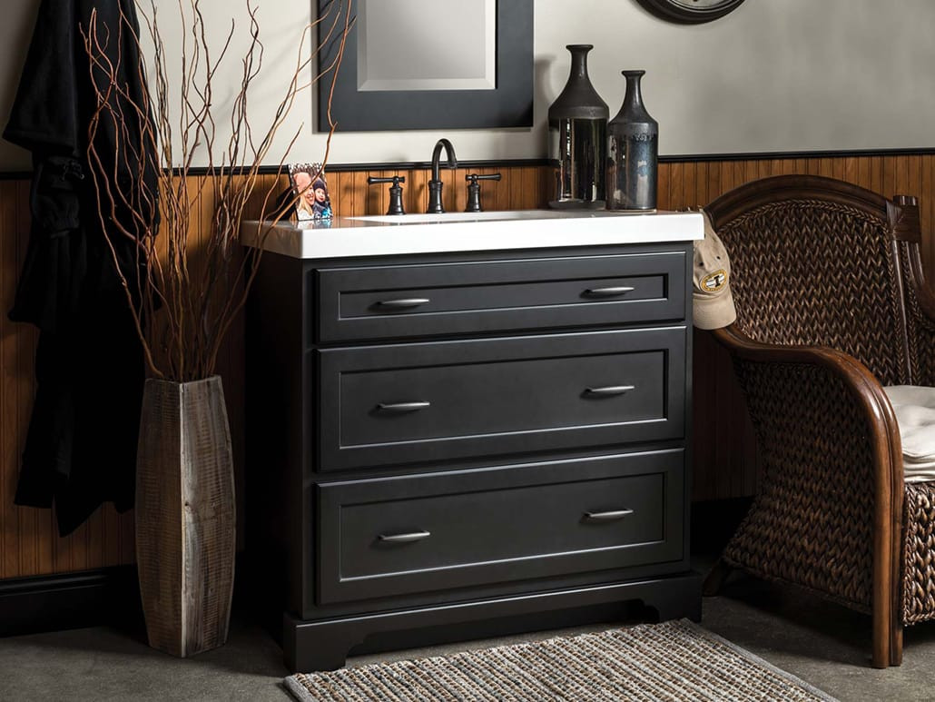 Dresser Bathroom Vanity  Bathroom Vanity and Cabinet Styles Bertch Cabinet