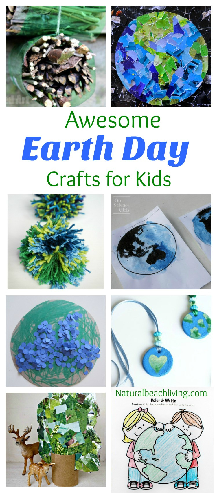 Earth Day Craft Ideas For Preschoolers  30 Creative Earth Day Crafts and Activities for Kids