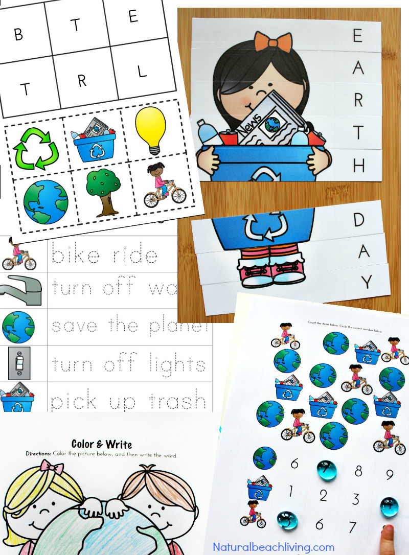 Earth Day Craft Ideas For Preschoolers  30 Creative Earth Day Crafts for Kids Natural Beach Living