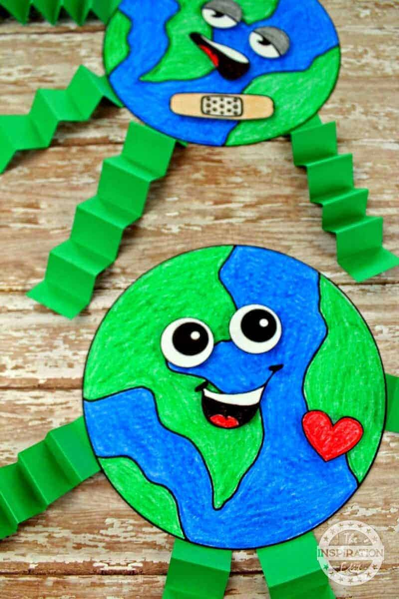 Earth Day Craft Ideas For Preschoolers  Fantastic Earth Day Craft And Activity For Kids · The