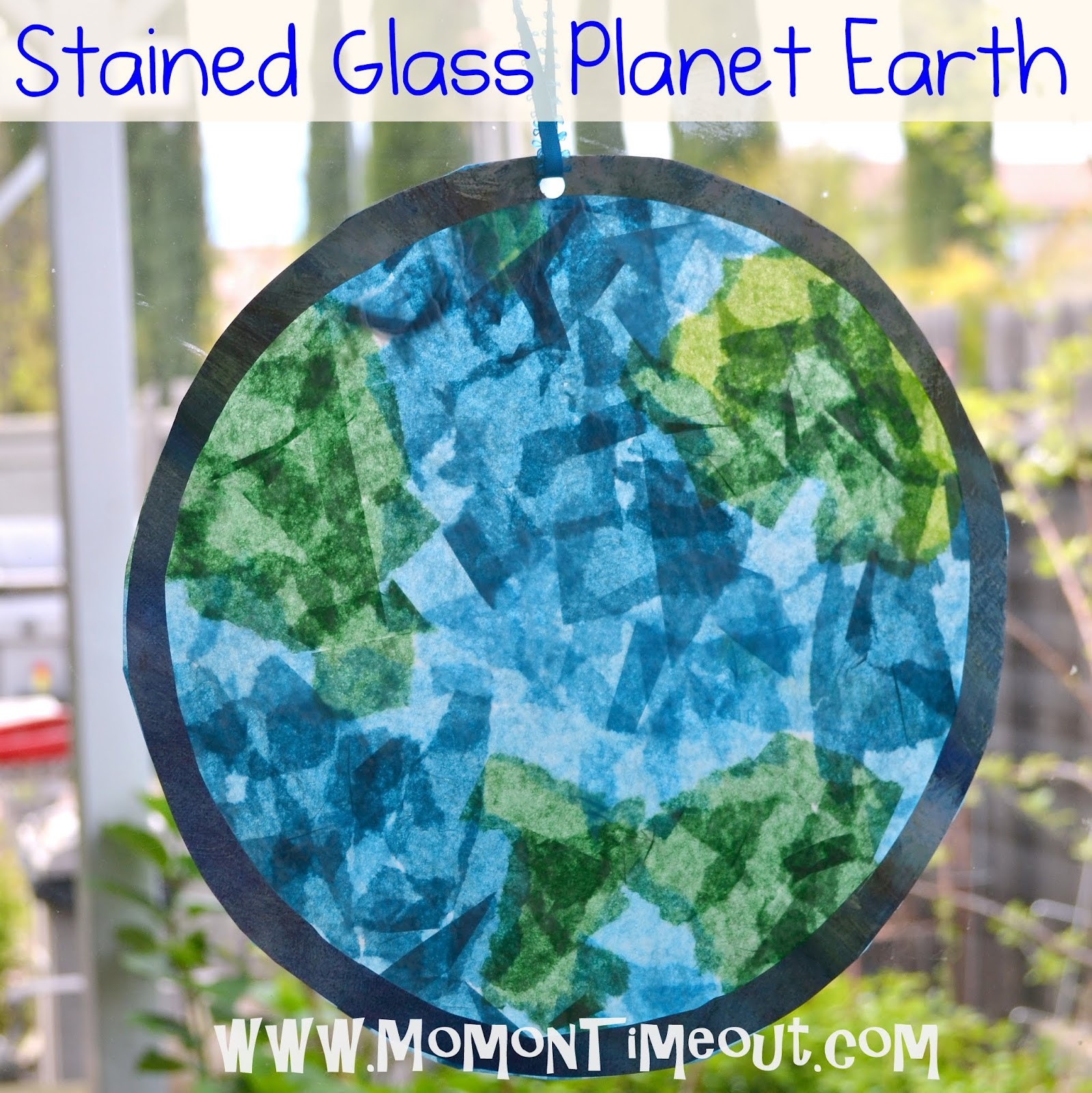 Earth Day Craft Ideas For Preschoolers  Preschool Crafts for Kids Earth Day Stained Glass Craft